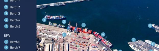 Marine Terminal Yard Tractor Operator Dead In Vehicle Allision  [Valparaiso, Chile – 25 July 2017]